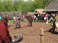 pojedynki - pokazy walk wikingów