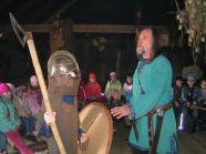 Wizyta w Warowni Jomsborg - opowiadanie skandynawskich sag przez samego Jarla Einara