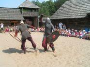 Wizyta w Warowni Jomsborg - pojedynki wikingów