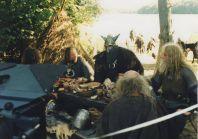 Stara Baśń - kiedy słońce było bogiem - jarlowie przed bitwą przy stole