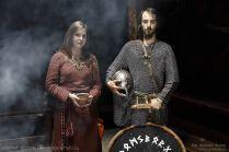 Nasi młodzi wikingowie - Martyna i Ulvric