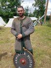 Ivar po wygraniu turnieju o miecz Herkusa Monte