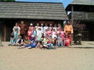 Wizyta w Warowni Jomsborg - zdjęcie z wikingami na pamiątkę