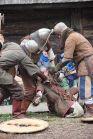 walki w grodzie Warownia Jomsborg