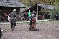 pojedynki grodowe - pokazy walk wikingów
