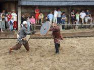 Wizyta w Warowni Jomsborg - pokazy walk wikingów