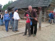 Wizyta w Warowni Jomsborg - strzelania z łuku historycznego