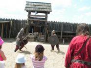 Wizyta w Warowni Jomsborg - walki wikingów